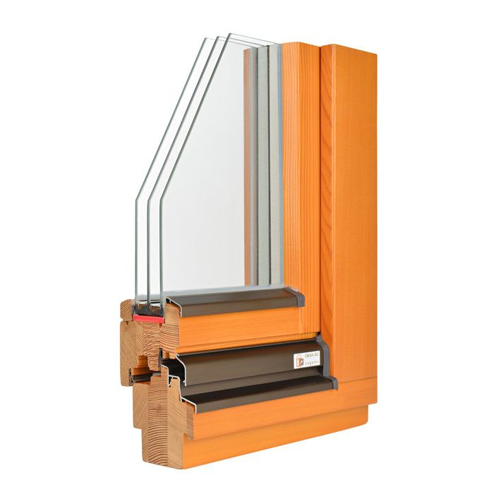 Navadno leseno okno